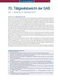 70. Tätigkeitsbericht der SAB - Seite 3