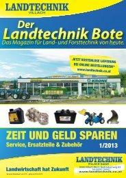 Prospekt herunterladen - Landtechnik Villach