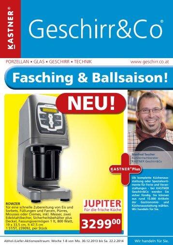 Fasching & Ballsaison! - Biogast