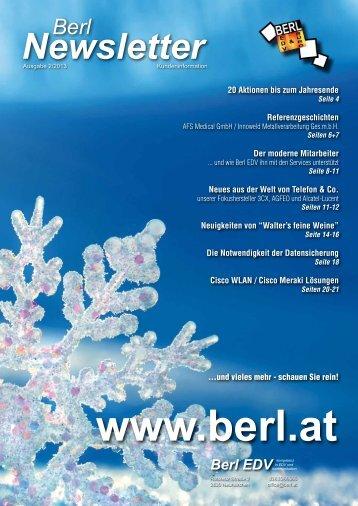 Ausgabe 2-2013 - Berl EDV