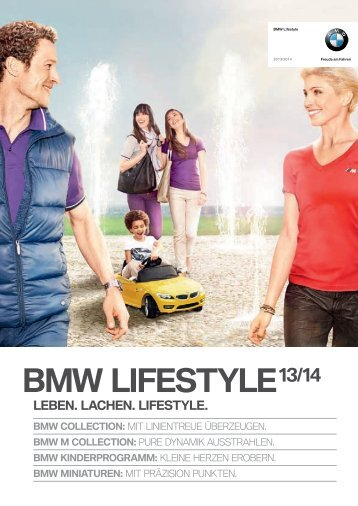 BMW Lifestyle Collection 2013-14