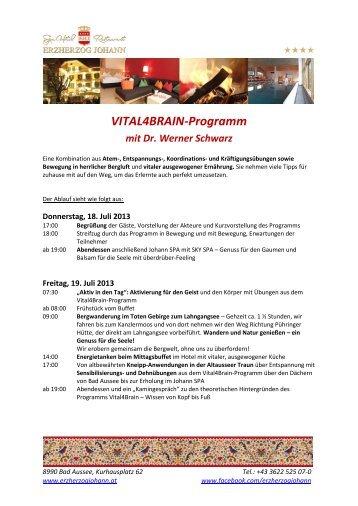 Download Programm - Hotel Erzherzog Johann