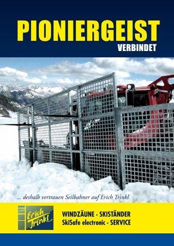 Prospekt Pioniergeist - Erich Trinkl