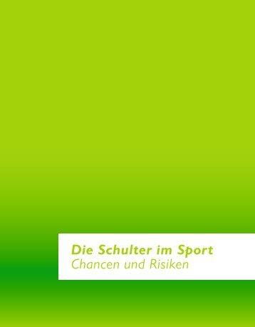Die Schulter im Sport Chancen und Risiken - Facultas