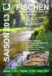 Broschüre 2012.indd - Gars am Kamp
