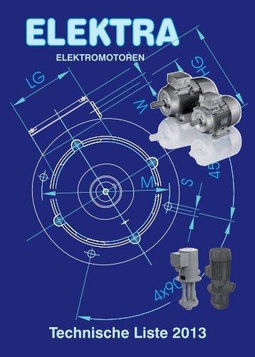 Katalog Elektra IE2 + IE3 - emotore.at