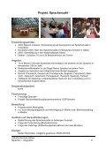 Vielfältige Tätigkeit im Bereich des Sprachenlernens und der ... - Page 6