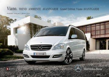 Preisliste Viano - Mercedes-Benz Österreich