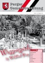Ausgabe September - Perg
