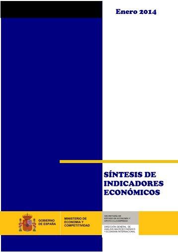 Sintesis Indicadores Economicos ENE 14