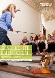 Angebote für Schulklassen 2013/2014 - Salzburg Museum