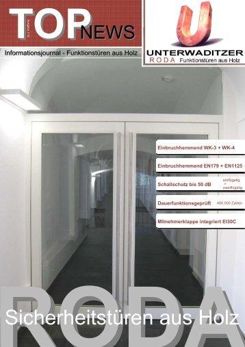 TOP News 01 - Unterwaditzer GmbH