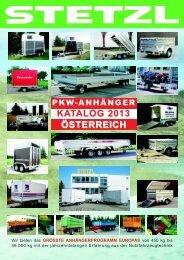 pkw-anhänger katalog - Stetzl