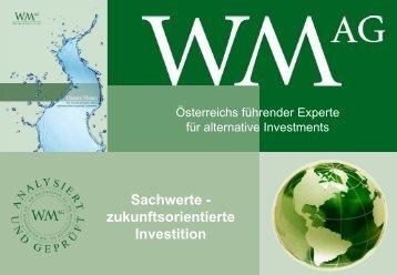 Gesamte Präsentation - WM Maierhofer AG>WM AG