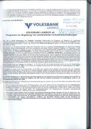 5. die emittentin - Volksbank Landeck
