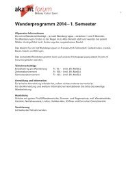 PDF mit dem detaillierten Wanderprogramm bis Ende Juni 2014
