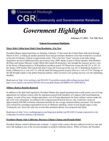 Gov Highlights Feb. 17