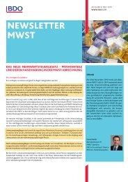 Newsletter MWST 2010/4