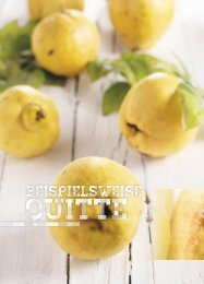 Früchte & Konfitüren