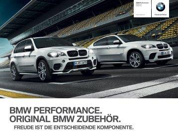 Zubehör BMW Performance X5/X6 Katalog