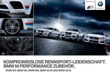 Zubehör BMW M Performance (M Modelle) Katalog