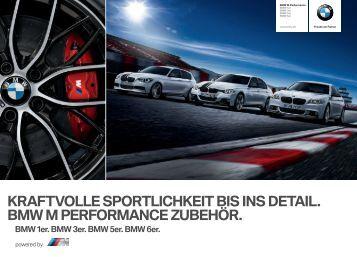 Zubehör BMW M Performance Katalog