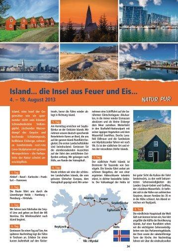 Island... die Insel aus Feuer und Eis... - Bolliger Carreisen und ...