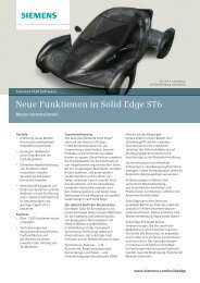 Whats New in Solid Edge ST6? - bytics AG