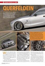 07 BMW Z4 M Coupe, Auto Illustrierte - cartech.ch / Rusconi & Ulz ...