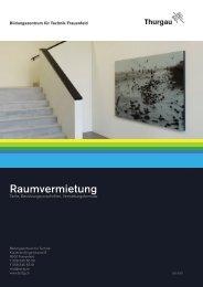 Vermietungsformular - Bildungszentrum für Technik Frauenfeld