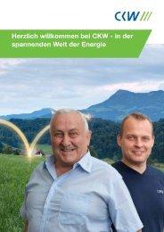 Herzlich willkommen bei CKW - in der spannenden Welt der Energie