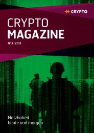 CryptoMagazine 3/2013. - Crypto AG