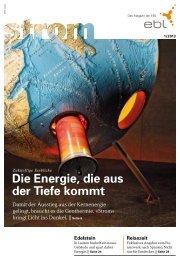 Strom Magazin 1/2013 - EBL