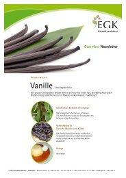 Vanille - EGK-Gesundheitskasse