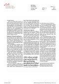 Aufschrei beim Gold, Schweigen beim Silber - Erklärung von Bern - Page 3