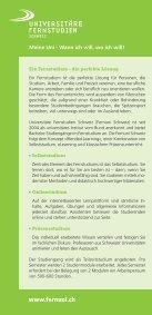 Flyer B Sc Economics - Fernstudien Schweiz - Seite 2