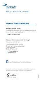 Flyer B Sc Economics - Fernstudien Schweiz - Seite 5