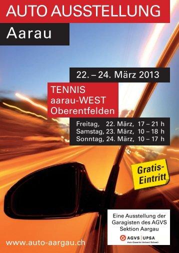 AUTO AUSSTELLUNG Aarau - Garage Frey Unterentfelden