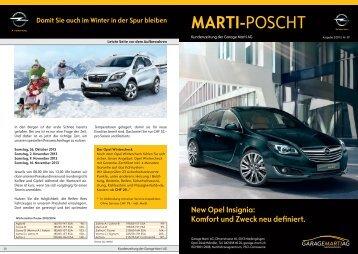 MARTI-POSCHT - Garage Marti AG - Opel