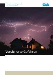 Versicherte Gefahren - GVA - St. Gallen