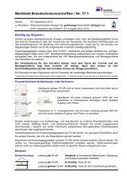 Wärmetechnische Anlagen für gasförmige Brennstoffe (pdf / 397 KB)