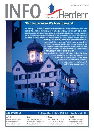Dorfinfo_Herdern_Dezember - Gemeinde Herdern