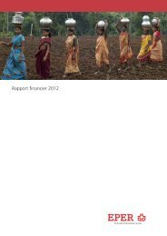 Rapport financier 2012 - Heks