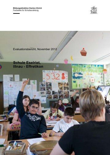 Schule Eselriet, Illnau - Effretikon - Stadt Illnau-Effretikon