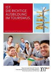 Infobroschüre - Internationale Schule für Touristik Zürich