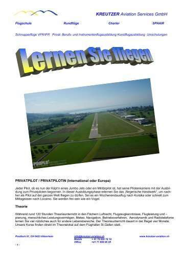 Download - Kreutzer Aviation