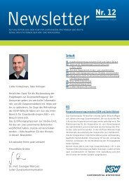 Newsletter 12, September 2013 - im Kantonsspital Winterthur