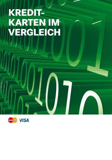 Kredit- Karten im vergleich - Leihkasse Stammheim