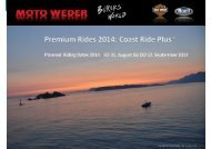 Präsentation Coast Ride - Moto Weder