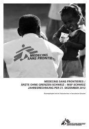 pdf, 1199 KB - Médecins Sans Frontières Suisse